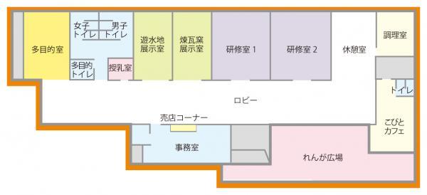 野木ホフマン館内部の画像